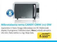 Mikrotalasna Rerna CMW 7117 DW