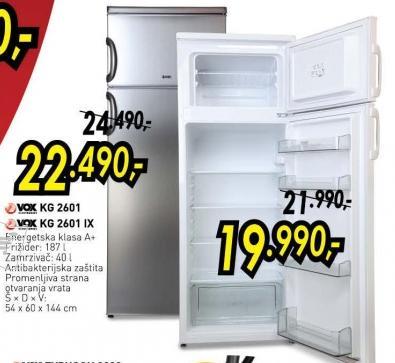 Kombinovani frižider Kg 2601