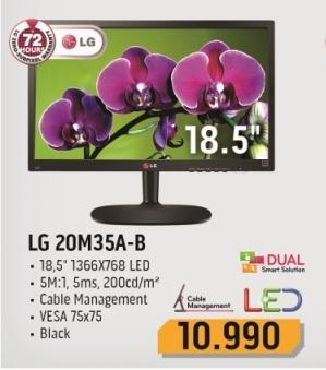 """Monitor LED 18.5"""" 20m35a-b"""