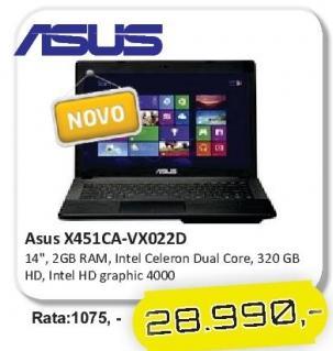 Laptop X451ca-Vx022d