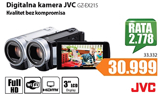 Digitalna kamera GZ-EX215