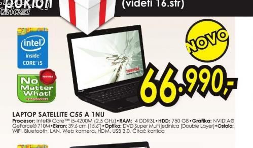 Laptop Satellite C55-A-1NU