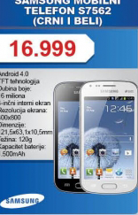 Telefon mobilni  S7562
