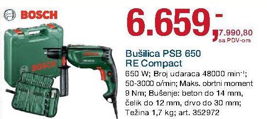 Bušilica Psb 650 Re Compact
