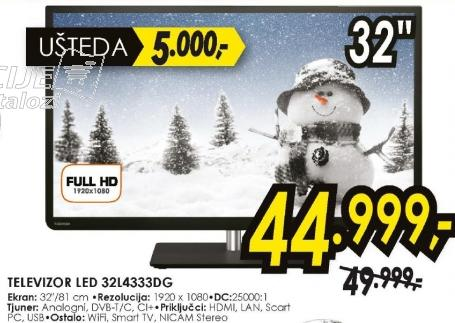 Televizor LED LCD 32L4333DG