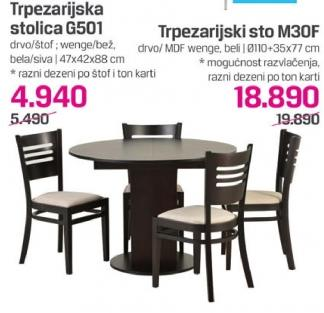Stolica G501