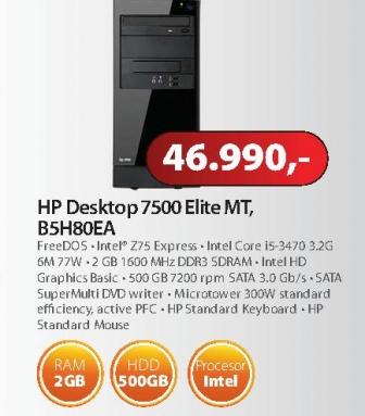 Računar Elite 7500 B5H80EA