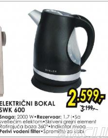 Električni bokal SWK 600