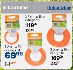 Silk za trimer