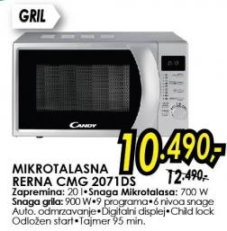 Mikrotalasna Rerna CMG2071DS