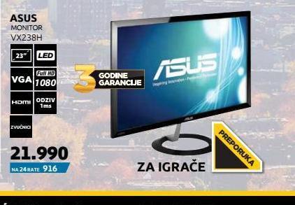 Monitor LED LCD VX238H