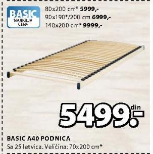 Basic A40 Podnica