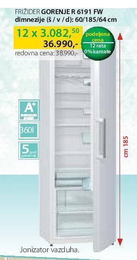 Kombinovani frižider R 6191 FW