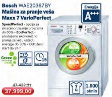Mašina za pranje veša WAE 20367BY