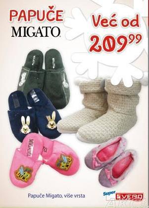 Papuče Migato