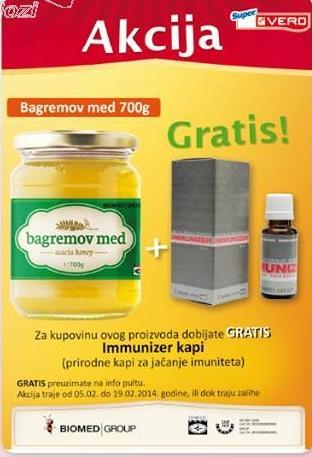 Akcija bagremov med