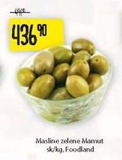 Maslina zelena s/k Mamut