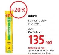 Šumeće tablete vitamin C
