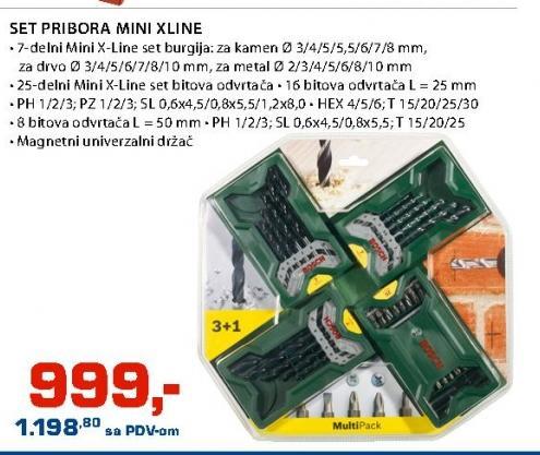 Set pribora Mini X Line