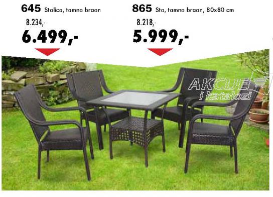 Baštenska stolica 645