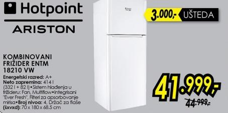 Kombinovani frižider Entm 18210 Vw