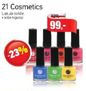 21 Cosmetics Lak za nokte