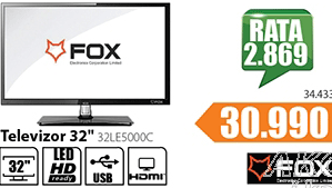 "Televizor TV 32"" LED 32LE5000C"