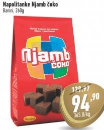 Napolitanke čokolada