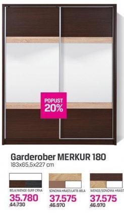 Garderober Merkur 180
