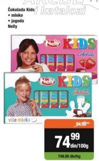 Čokolada kids mleko