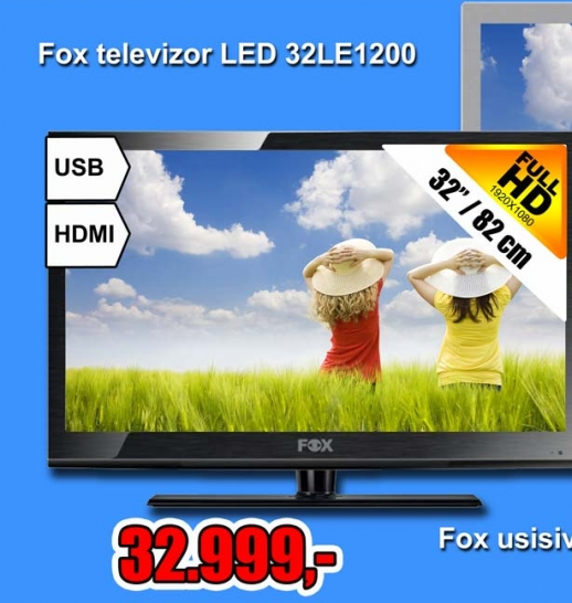 """Televizor LED LCD 32Le1200 32""""/82 Cm"""
