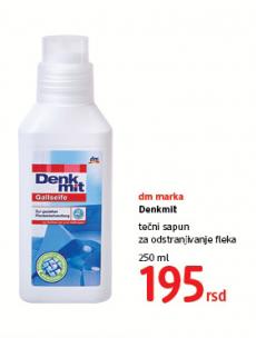 Denkmit, Tečni sapun za odstranjivanje fleka