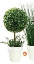 Ukrasna veštačka biljka Henning