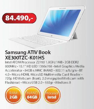 NOTEBOOK ATIV Book XE300TZC-K01HS