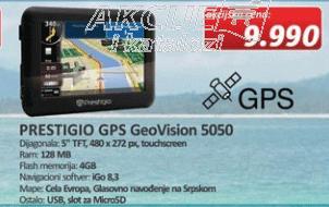 GPS Navigacija GeoVision 5050