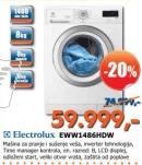 Mašina za pranje veša EWW1486HDW