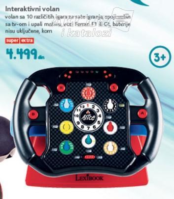 Igračka interaktivni volan