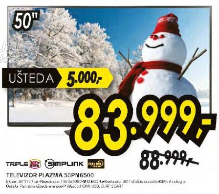 Plazma televizor 50PN6500