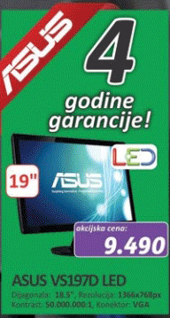 Monitor VS197D LED
