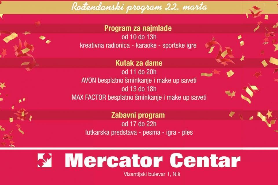Rođendanski program 22. Marta