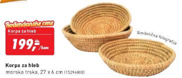 Korpa za hleb