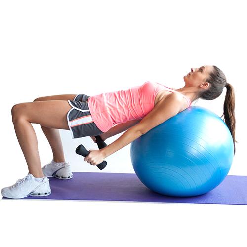 Gimnastička lopta za aerobik i pilates 55cm