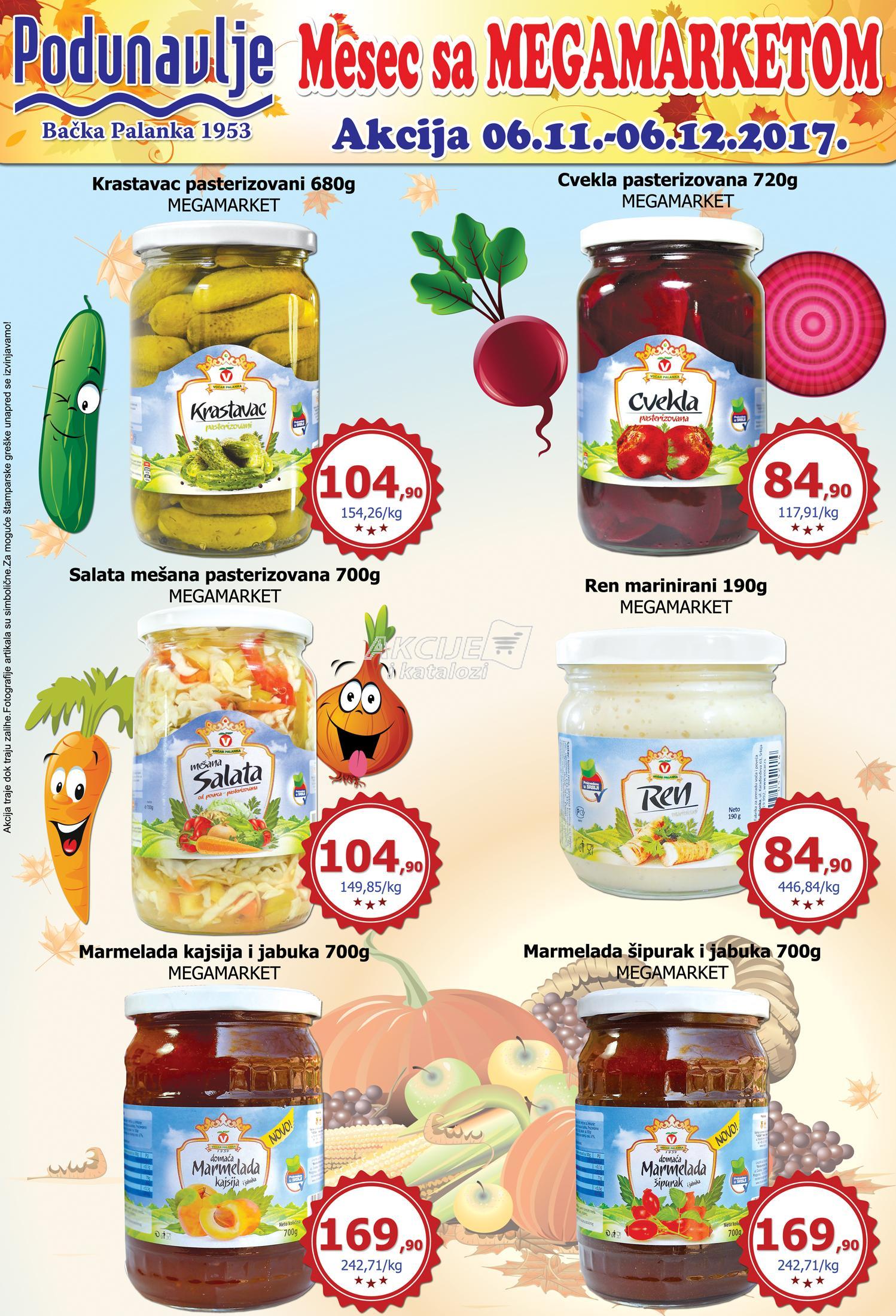 AD Podunavlje - Redovna akcija mesec sa Megamarketom