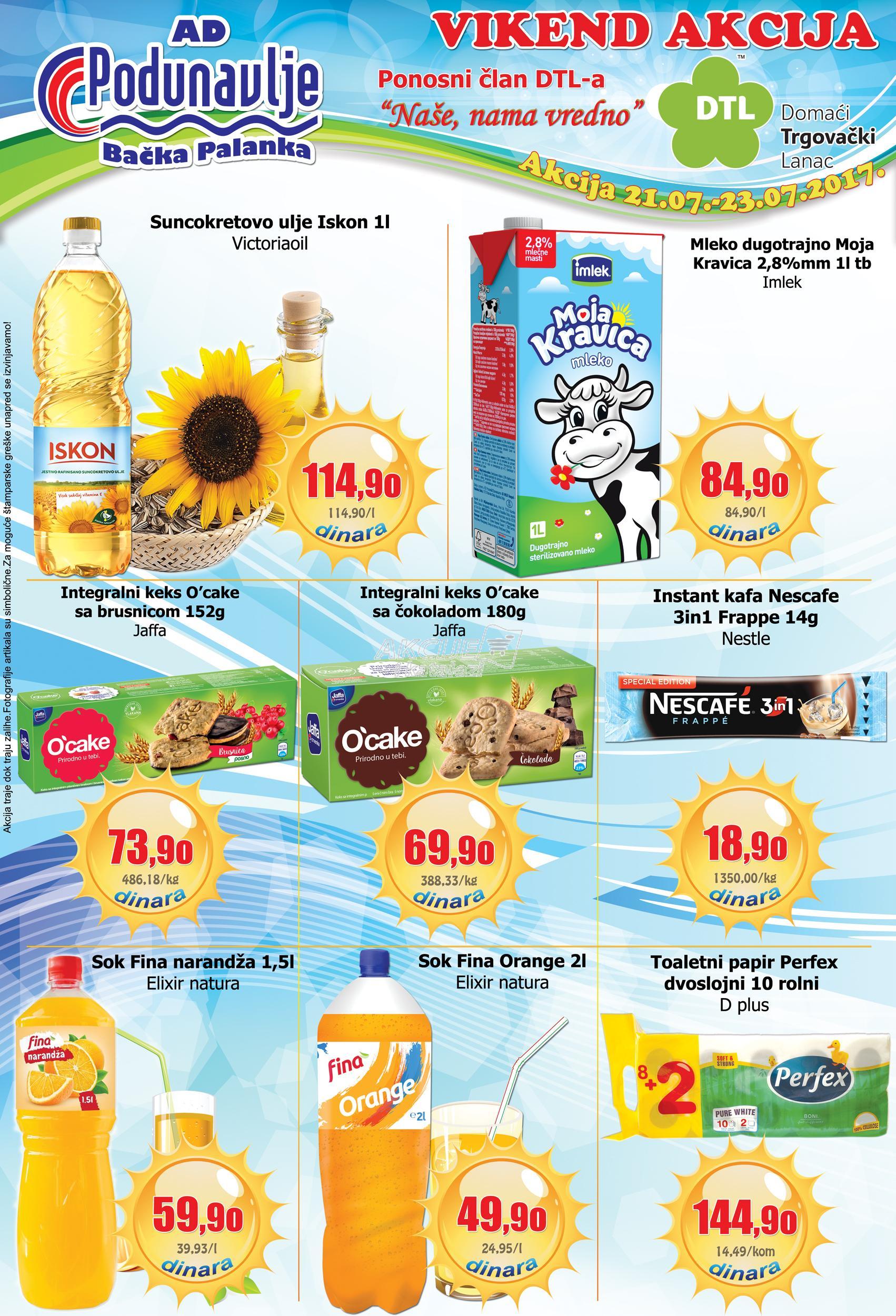 AD Podunavlje vikend akcija super cena