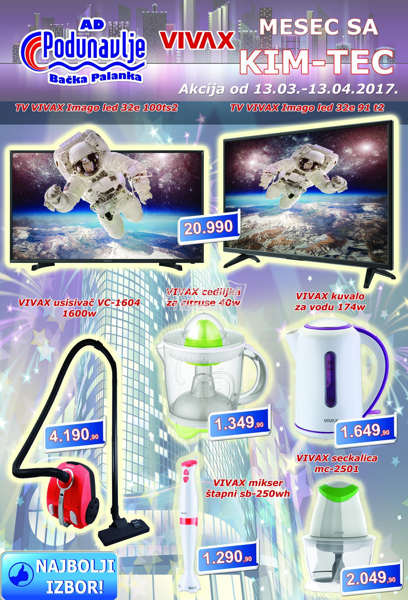 AD Podunavlje - Redovna akcija super cena
