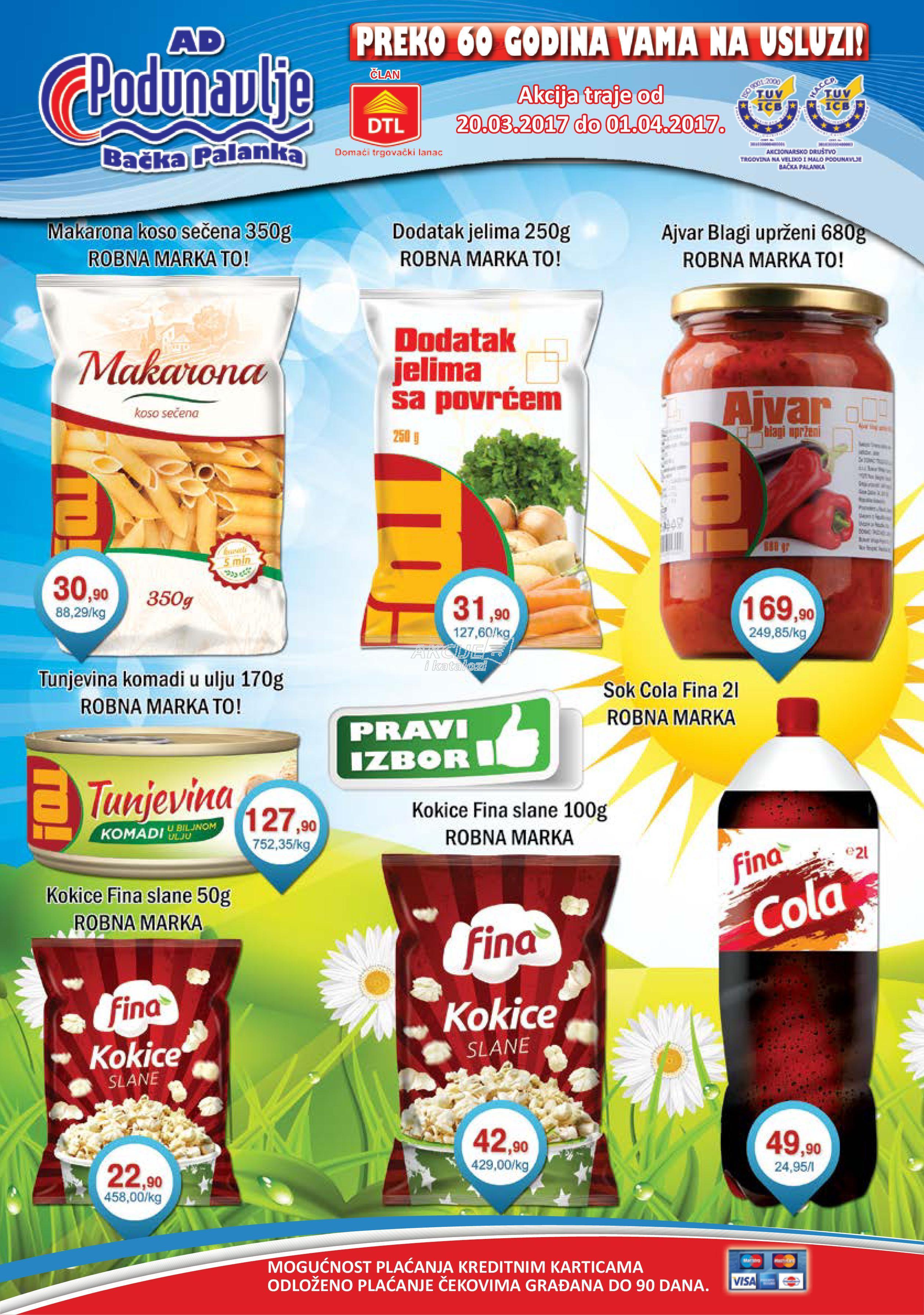 AD Podunavlje - Redovna akcija super kupovine