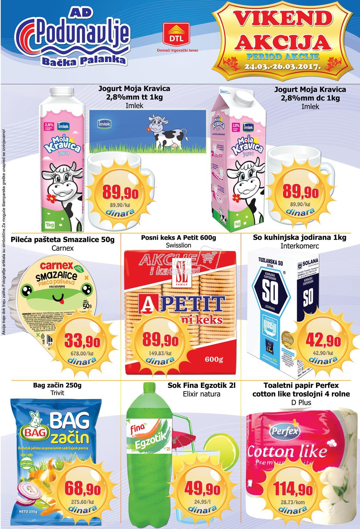 AD Podunavlje - Vikend akcija super cena