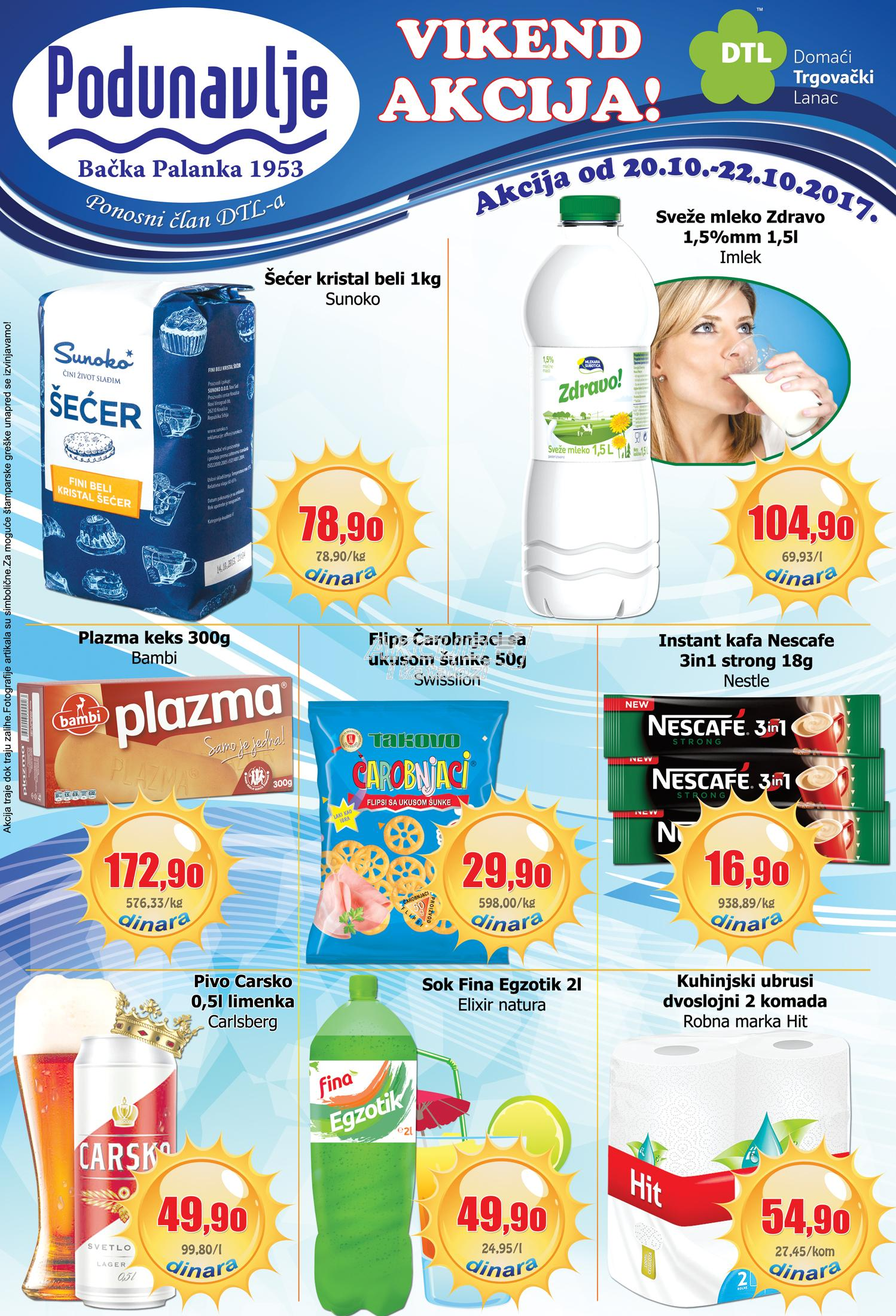AD Podunavlje akcija vikend super cena