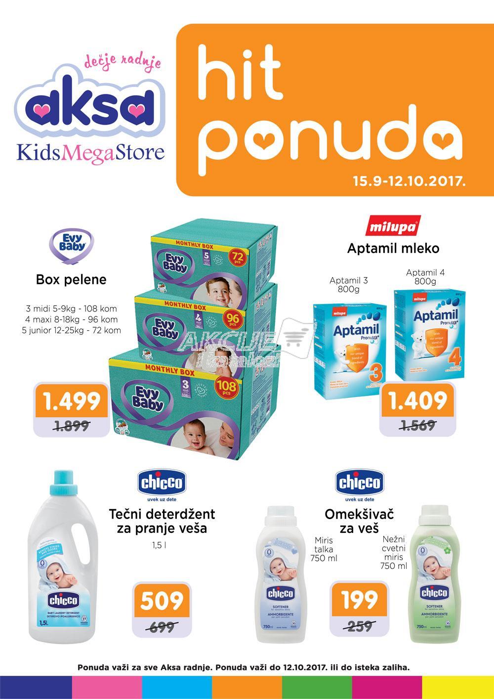 Aksa - Redovna akcija super kupovine