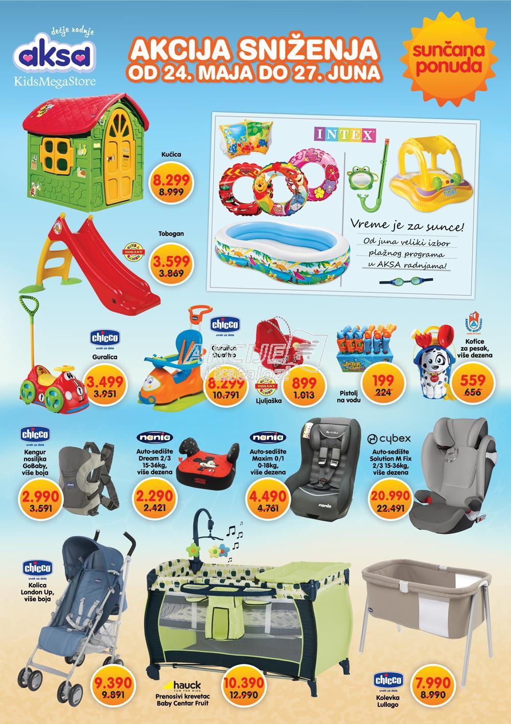Aksa - Redovna akcija sunčane kupovine za vas